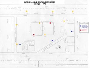 MAPA PARQUE CENTRAL 11-143 NIZA NORTE